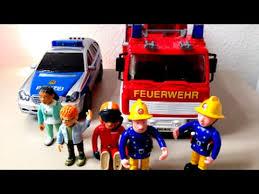fireman sam fire truck police car fire truck