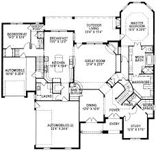 floor plan stairs two stairs for great flow 15338hn architectural designs