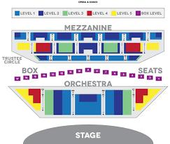 seat map seat map michigan opera theatre