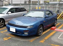 toyota convertible file toyota celica 2 0 convertible st183c front jpg wikimedia