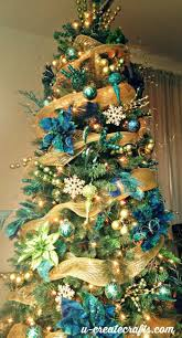 Put Lights On Christmas Tree by Christmas Peacockhristmas Tree Decorated Trees Awesome How To