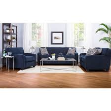 blue living room set living room set barbara navy blue sofa set 2401 lastman s bad boy