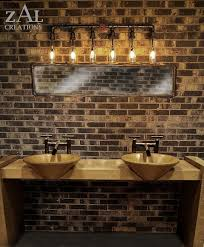 Unique Vanity Lighting Marvelous Unique Bathroom Vanity Lights On Home Remodel Ideas With