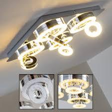 Gebrauchte Wohnzimmer Lampen Led Deckenleuchte Design Flur Strahler Wohn Zimmer Leuchte Decken