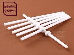 wholesale 60pcs lot 8 8 0 3cm fruit lollipop stick with dedicated