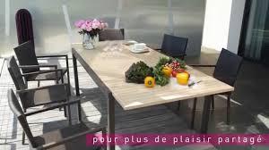 muebles de jardin carrefour awesome table de jardin extensible carrefour gallery amazing house