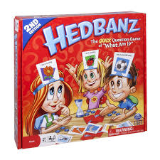 amazon com hedbanz game edition may vary toys u0026 games