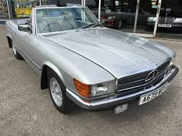 used mercedes convertible used mercedes sl 280 sl classic convertible with hard top silver