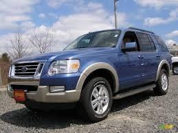 Ford Explorer Blue - 2009 sport blue metallic ford explorer eddie bauer 4x4 7921297