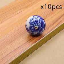 where to buy kitchen cabinet door knobs firstdecor blue and white porcelain knobs ceramic door knobs
