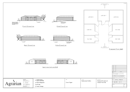 agrarian ltd stable plan drawings equestrian design equine