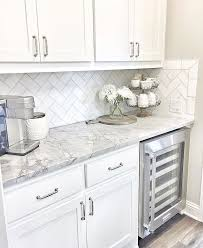 white kitchen cabinets with marble counters i like the back splash design kitchen design white