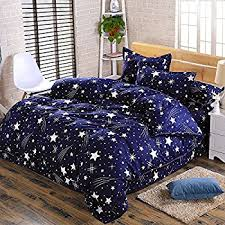 Stars Duvet Cover Amazon Com Veratex Rocket Star Bedding Collection 100 Polyester