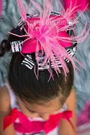 bowtique hair bows hot pink zebra boutique hair bow buy baby headbands hair bows