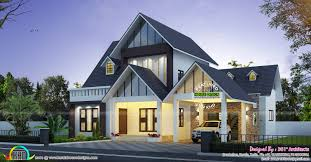 european model beautiful home 2286 sq ft kerala home design and