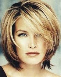 how to cut a shaggy hairstyle for older women layered bob for older women pinteres
