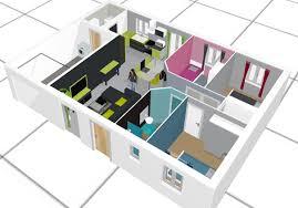 faire une cuisine en 3d plan d une maison en 3d comment faire un de newsindo co