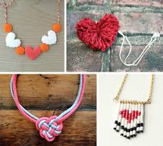 diy punk necklace images Diy heart shaped necklaces for your valentine jpg