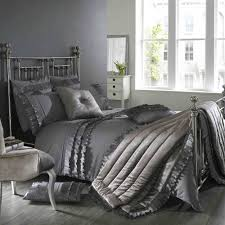 Jeff Banks Duvet Sets Kylie Bedding Ionia Kitten Grey Duvet Cover And Two Pillowcases