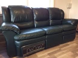 Decoro Leather Sofa by Red Leather Look Sofa Sofas Gumtree Australia Hobart City