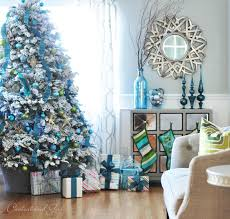 Christmas Decorations White Tree by Love The