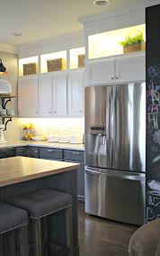 lowes kitchen ideas coffee table diy and lower cabinet lighting from thrifty