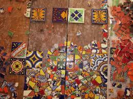 Diy Mosaic Table Diy Mosaics Roamingartist U0027s Blog