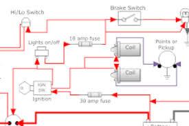simple wiring diagram for motorcycle wiring diagram
