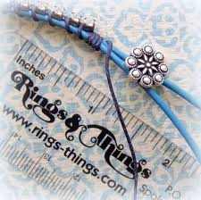 make leather cord bracelet images Easy to make lashed rhinestone and leather bracelet rings and things jpg