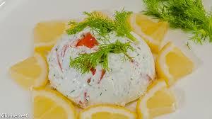 recette cuisine dômes de truite au yaourt grec et aux herbes kilometre 0 fr