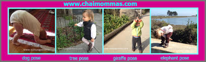 first 6 yoga poses for infants and toddlers chai mommas