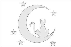 10 free pumpkin stencils for cat band of cats