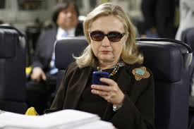 Hillary Clinton Cell Phone Meme - that viral photo of hillary checking her phone made the state