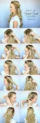 Easy Updo Hairstyles Step By Step by Best 25 Braids And Curls Ideas On Pinterest Cute Curly