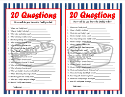 20 questions nautical printable party game nautical baby