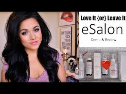 esalon hair color reviews with pictures love it or leave it esalon com demo hair color tips youtube
