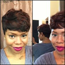 short bump weave hairstyles short and sassy custom 27 piece wig youtube