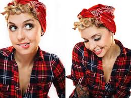 how to wear a bandana with short hair pictures rockabilly bandana hairstyle black hairstle picture