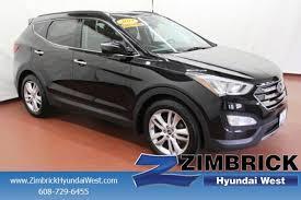 Saddle Interior Used 2013 Hyundai Santa Fe For Sale Madison Wi