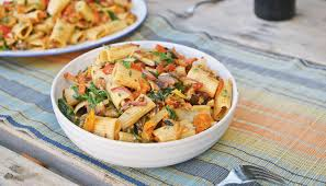 Pasta Recipes by Roasted Veggie Pasta Recipe