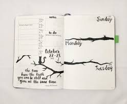 12 inspirational bullet journal monthly theme ideas planning