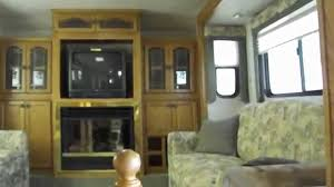 5th Wheel Living Room Up Front by 2004 Wilderness Advantage Ax6 365 Fifth Wheel Youtube