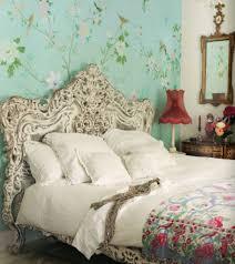 shabby chic bedroom sets orange fabric upholstery headboard window covering shabby chic