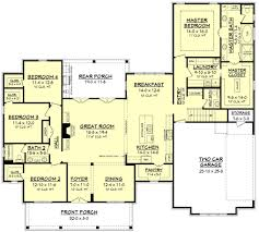 100 split bedroom floor plan master suite floor plans