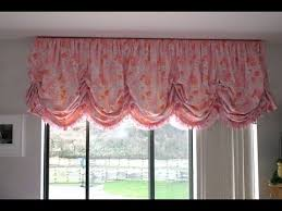 White Balloon Curtains Balloon Curtains Inexpensive Youtube How To Make A Valance Curtain