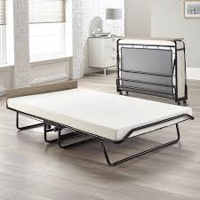 Collapsible Bed Frame Jay Be Supreme Automatic Folding Bed With Memory Foam Mattress