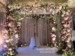 wedding backdrop flower wall high quality wedding arch flower wall wedding backdrop for sale