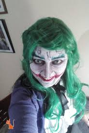 Female Joker Halloween by Female Joker Makeup By Senseecosplay On Deviantart