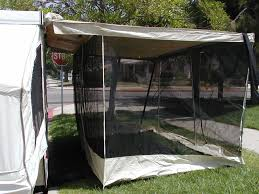 Trailer Awning Trailer Awning Screen Room U2014 Kelly Home Decor The Best Trailer