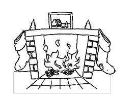 christmas fireplace clipart free download clip art clipartix